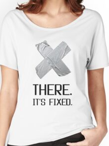 It is Fixed Broken Heart Duct Tape Funny Women's Relaxed Fit T-Shirt