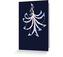 Ninetails Lines  Greeting Card
