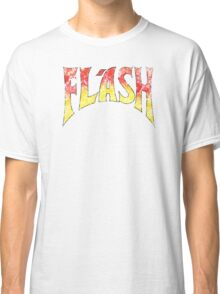 Flash Gordon – Distressed  Red/Yellow Logo Classic T-Shirt