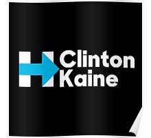 Clinton Kaine  Poster