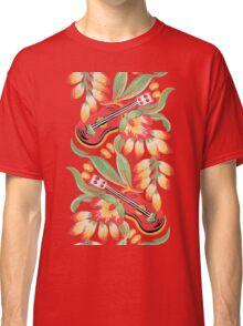 Ukulele Pattern (Black) Classic T-Shirt