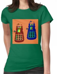 PIXELATE EXTERMINATE 1 Womens Fitted T-Shirt