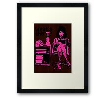 What's The T? Framed Print
