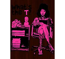 What's The T? Photographic Print