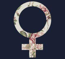 Floral Feminist Kids Tee