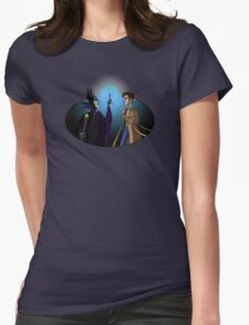 Maleficent's Surprise Womens Fitted T-Shirt