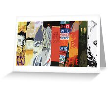 Radiohead All Album Covers Greeting Card