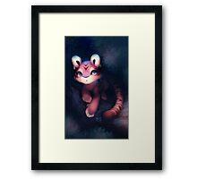 Tiger Fruit Framed Print