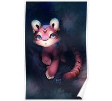 Tiger Fruit Poster