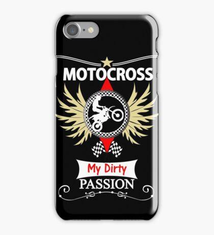 Bikers Motocross Racing Themed Design iPhone Case/Skin