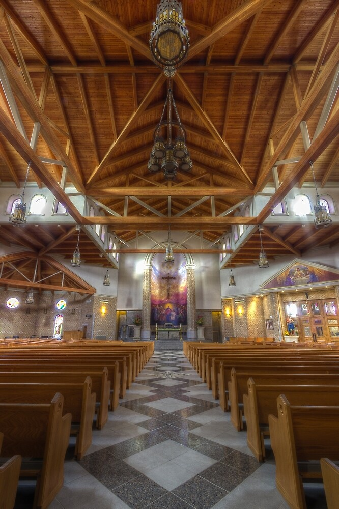 St. Clare of Assisi church by John Velocci