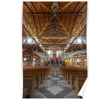 St. Clare of Assisi church Poster