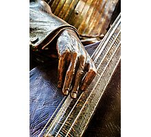 The Bass Player Photographic Print