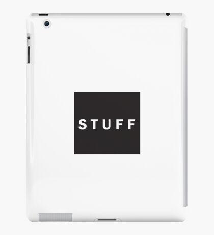 Stuff (HUF Parody) iPad Case/Skin