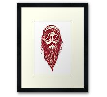 Wizard dude Framed Print