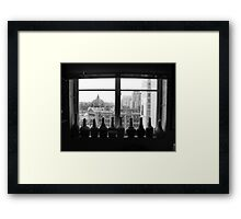 Flinders St Inside & Out Framed Print