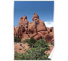 Rock Formations 8 Arches National Park Poster
