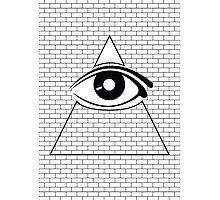 All Seeing Eye (Black/White) Photographic Print