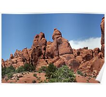 Rock Formations 9 Arches National Park Poster