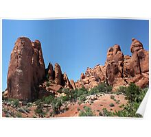 Rock Formations 10 Arches National Park Poster