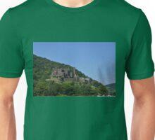 Reichenstein Castle On The Rhine Unisex T-Shirt