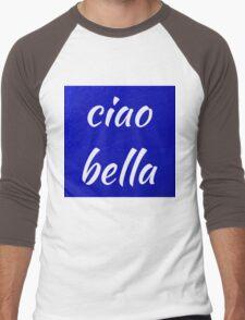 Ciao Bella Hi Beautiful Men's Baseball ¾ T-Shirt