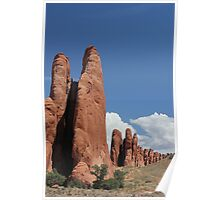 Rock Formations 11 Arches National Park Poster