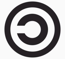 Copyleft Symbol - Support the Free Web! One Piece - Long Sleeve