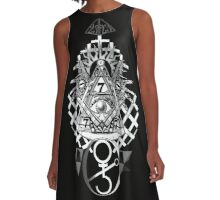 CLIMAX OF PAIN 16 A-Line Dress