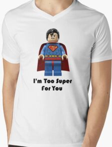Super ! Mens V-Neck T-Shirt