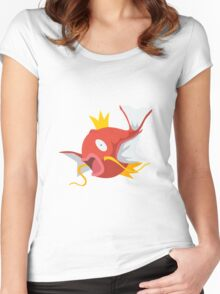Magikarp - The King Women's Fitted Scoop T-Shirt