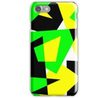 Random Shapes in Bold Colors iPhone Case/Skin