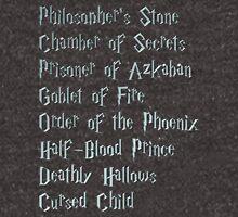 Harry Potter Book List Unisex T-Shirt