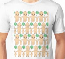 Kewpie Doll Pattern (1) Unisex T-Shirt