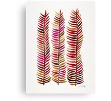 Red Stems Canvas Print