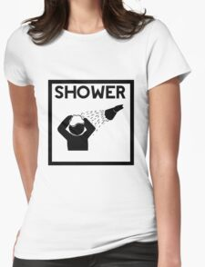 SHOWER Womens Fitted T-Shirt