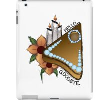 Ouija Planchette with Flowers iPad Case/Skin