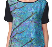 Caught on the Wind Chiffon Top