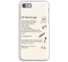 Recipe For Disaster iPhone Case/Skin
