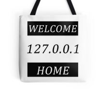 Typography network Tote Bag