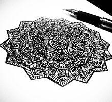 Mandala Doodle - $20 by Trisha Vaz