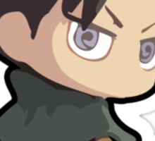 Levi: Attack on Titan (With Name) Sticker