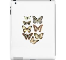 butterflies retro iPad Case/Skin