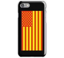 Economic Justice American Flag iPhone Case/Skin