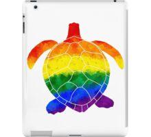 Rainbow Turtle iPad Case/Skin