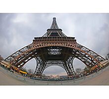 Majestic Eiffel Tower Photographic Print
