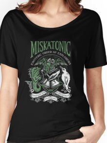 Miskatonic Esoteric Order of Explorers Women's Relaxed Fit T-Shirt