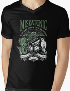 Miskatonic Esoteric Order of Explorers Mens V-Neck T-Shirt