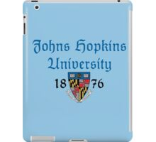 Johns Hopkins University-Gothic Text iPad Case/Skin