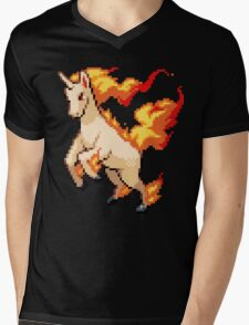 Rapidash Mens V-Neck T-Shirt